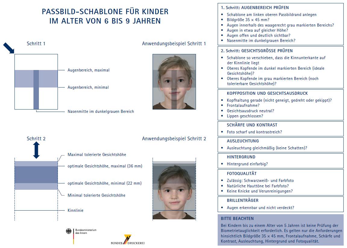Nett Passbild Vorlage Ideen - Beispielzusammenfassung Ideen ...
