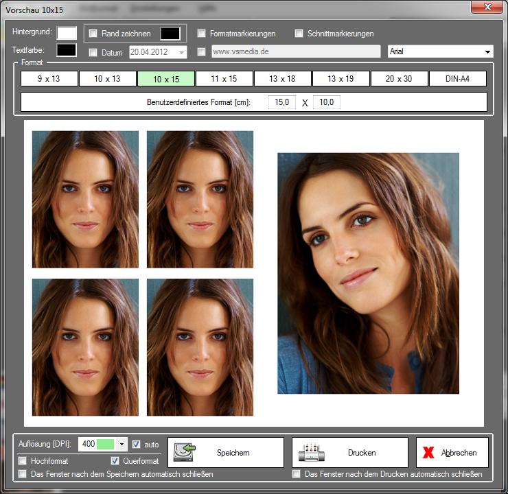 Passbildpro Programm Für Passfotos Passbilder Bewerbungsfotos